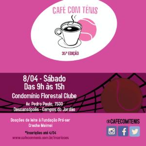 cafe com tenis-condomínio Florestal Clube-Campos do Jordão2017
