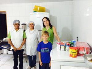 Doações ao Projeto Esperança, Criança e Família - Taubaté