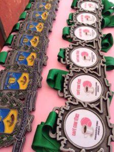 Medalhas - Paraisópolis
