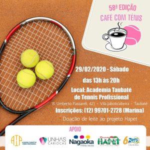 cafe com tenis taubate attp2020